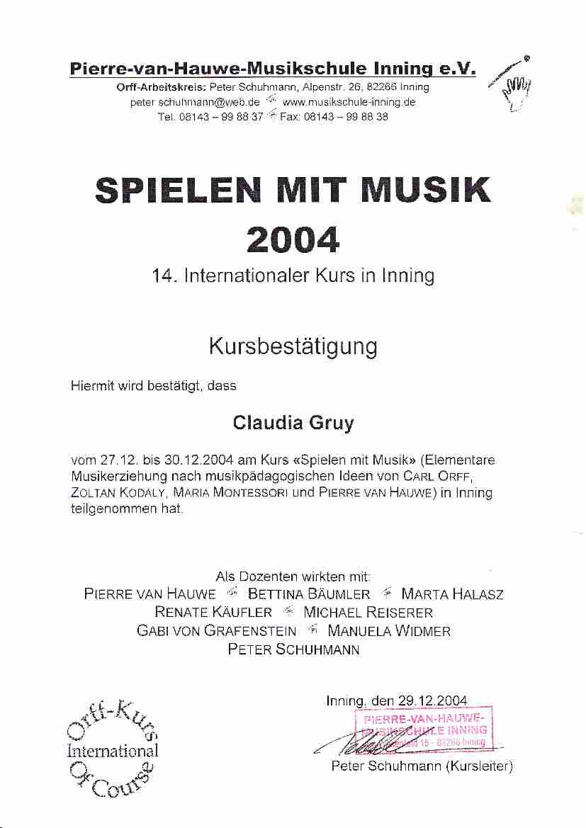Early Music 2004