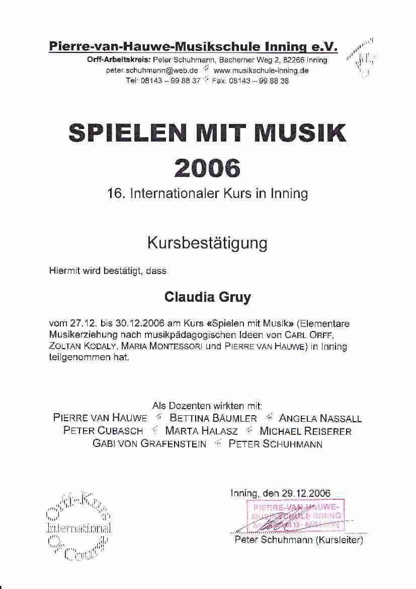 Early Music 2006